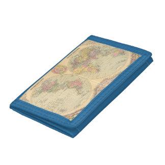 World 10 tri-fold wallet