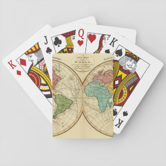 World 3 playing cards