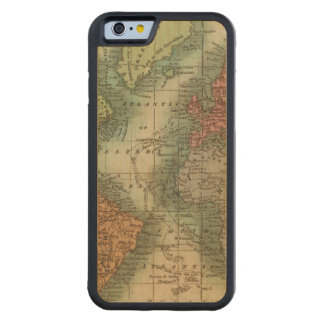 World 4 carved maple iPhone 6 bumper case