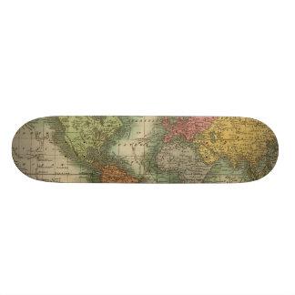 World 4 custom skate board
