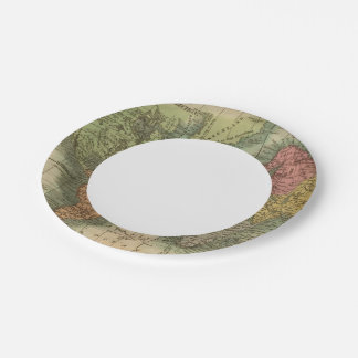 World 4 paper plate