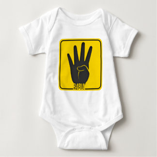 World 4 Rabia R4BIA support Baby Bodysuit