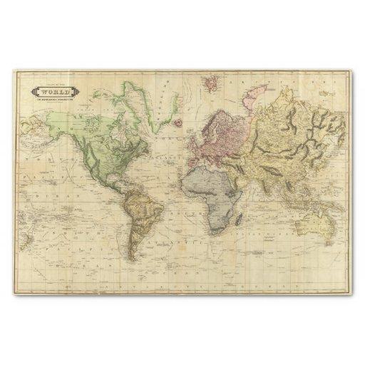 World 5 Tissue Paper