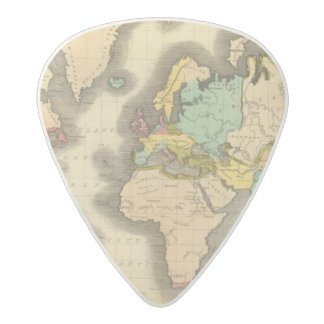 World 6 acetal guitar pick