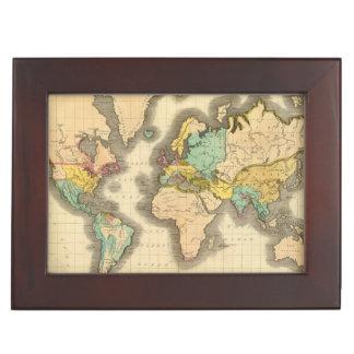 World 6 keepsake box