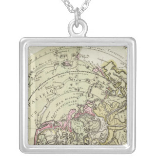 World 6 silver plated necklace