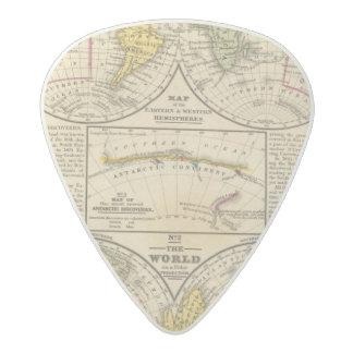 World 7 acetal guitar pick
