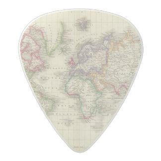 World 9 acetal guitar pick