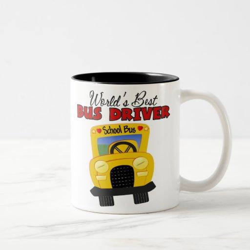 World's Best Bus Driver Mugs