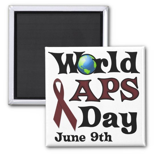WORLD APS DAY MAGNET