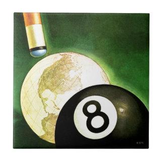 World as Cue Ball Tile
