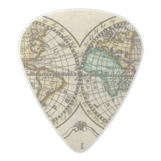 World Atlas Acetal Guitar Pick