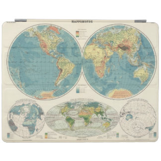 World Atlas Map 2 iPad Cover