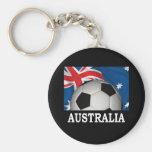 World Australia Keychain