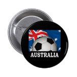 World Australia Pinback Buttons