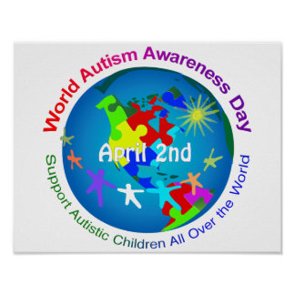 World Autism Awareness Day Poster