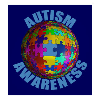 World Autism Awareness Poster (Extra Large)