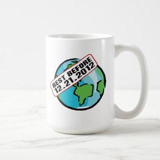 World Best Before 12.21.2012 Basic White Mug