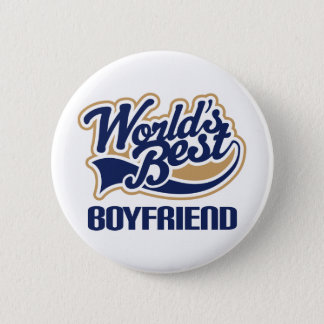 World Best Boyfriend 6 Cm Round Badge