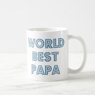 World Best Papa Basic White Mug