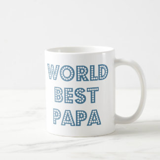 World Best Papa Coffee Mug