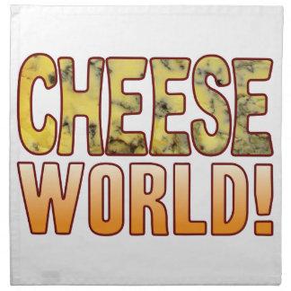 World Blue Cheese Napkin
