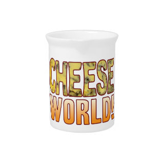 World Blue Cheese Pitcher