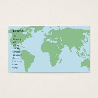World - Business Business Card