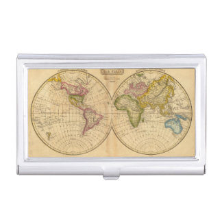 World by Worcester Business Card Holder