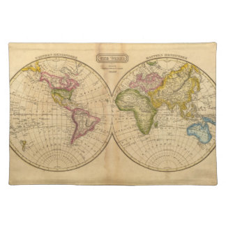 World by Worcester Placemat