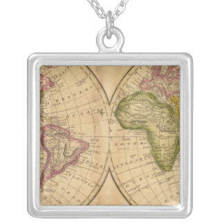 World by Worcester Silver Plated Necklace