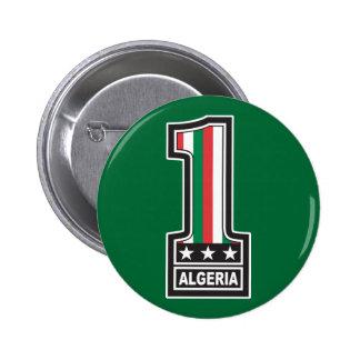 World Champion Algeria 6 Cm Round Badge