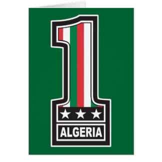 World Champion Algeria Greeting Card