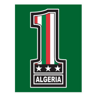 World Champion Algeria Postcard