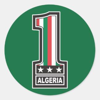 World Champion Algeria Stickers