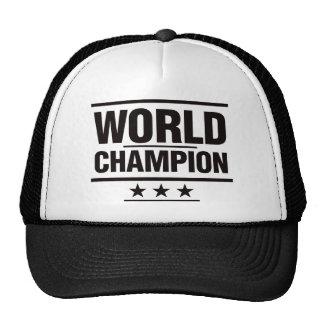 World Champion Cap