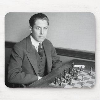 World Champion Chess Player, 1915 Mouse Mat