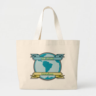 World Champion Grandpop Canvas Bag