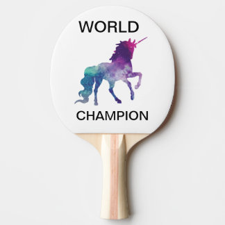 WORLD CHAMPION PING PONG PADDLE