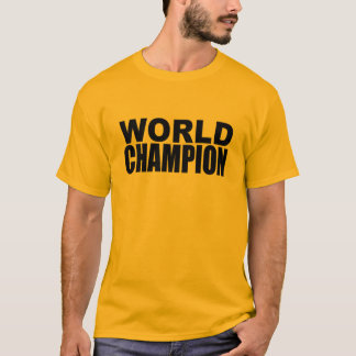 World Champion T-Shirt