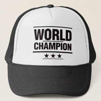 World Champion Trucker Hat