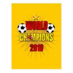 World Champions 2010 Spain Postcard