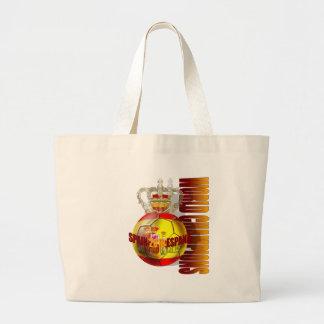 World Champions Spain 2010 futbol Canvas Bags