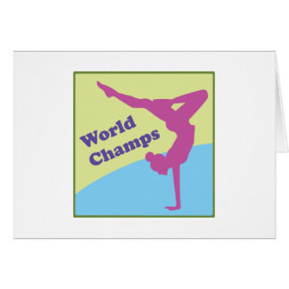 World Champs Greeting Card