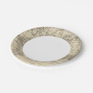 World Chart Paper Plate