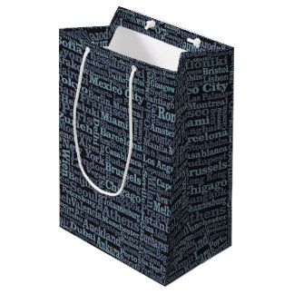 World Cities gift bags