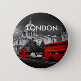 World Cities - London 6 Cm Round Badge