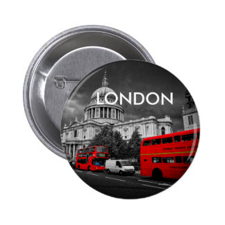 World Cities - London 6 Cm Round Badge