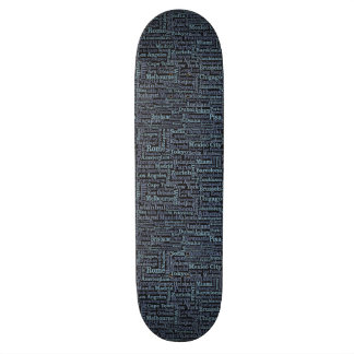 World Cities skateboards