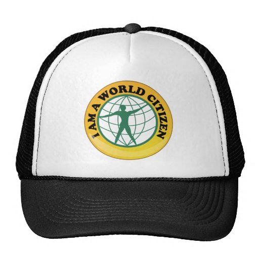 World Citizen Badge by World Service Authority Hat